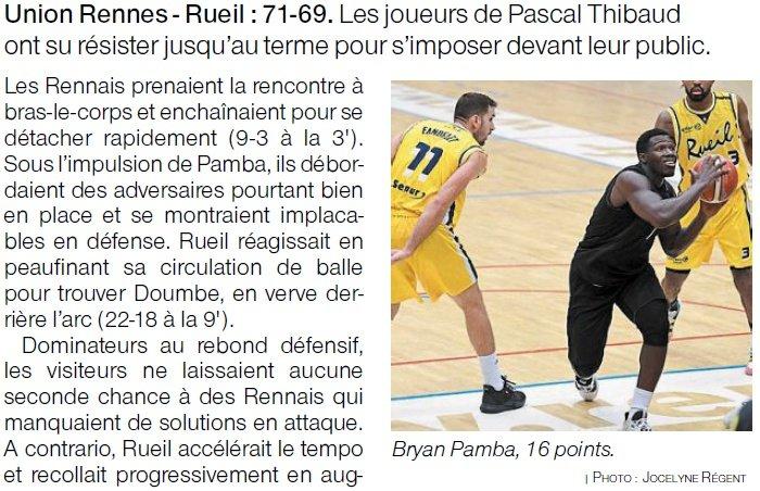Article de presse Ouest-France du 7 octobre 2020