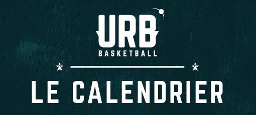 Le calendrier de la saison