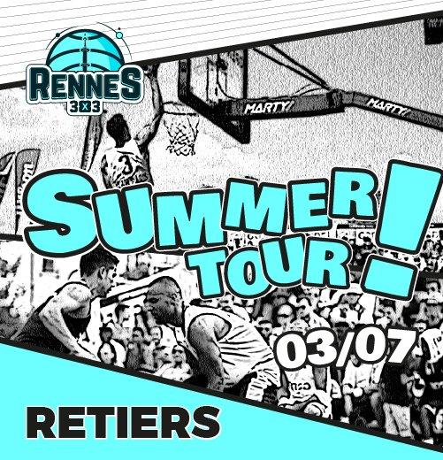 3x3 Retiers basket